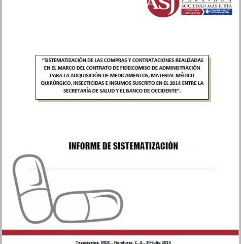 Sistematización compra medicamentos