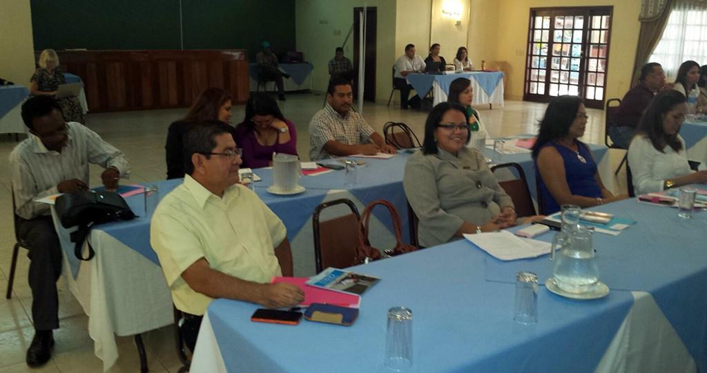 capacitación Rescate en La Ceiba