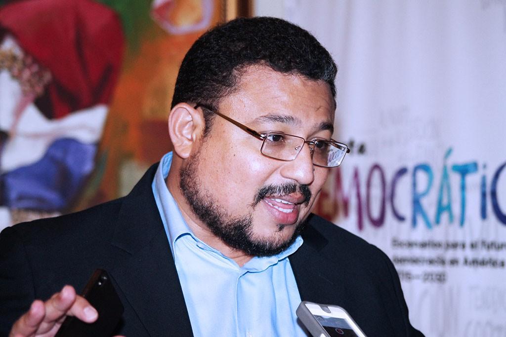 Omar Rivera, coordinador de Incidencia Política de ASJ.