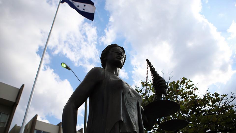Corte Suprema de Justicia de Honduras.