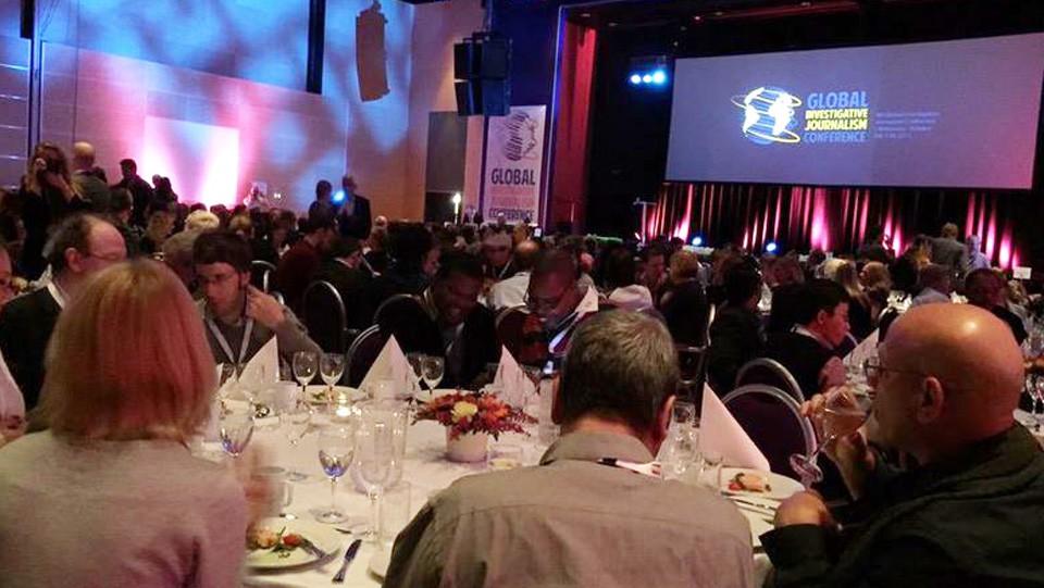Conferencia de Periodismo Investigativo celebrada en Noruega.