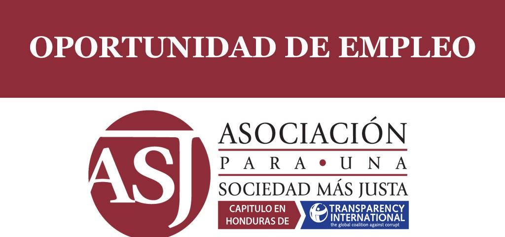 Oportunidad de empleo ASJ Honduras.