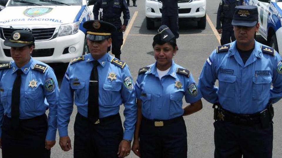 uniforme policíaHhonduras