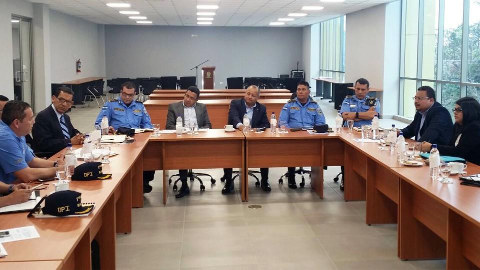 reunión ASJ-Policía