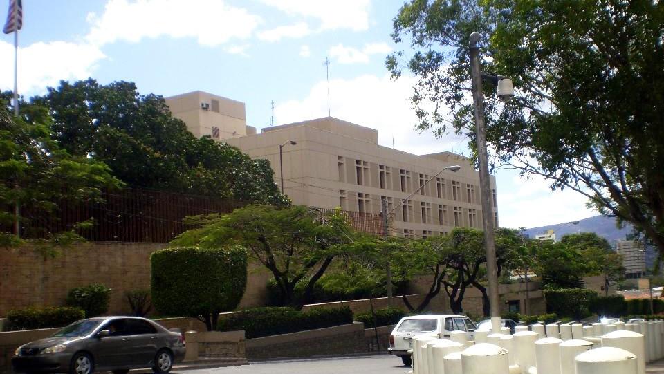 embajada eua