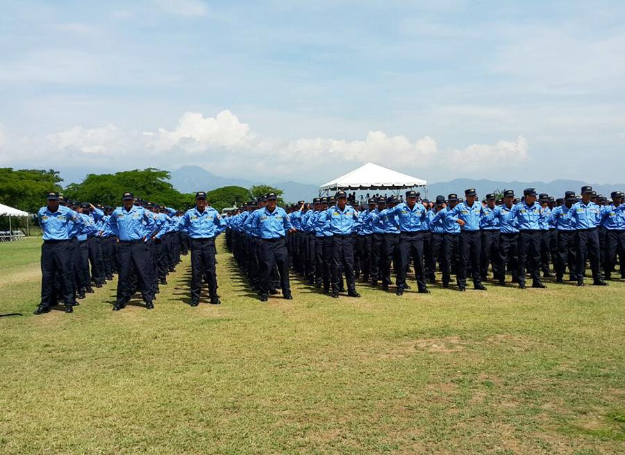 escala basica policia