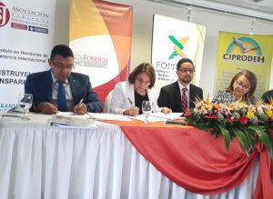 Programa Impactos y ASJ firman acuerdo de cooperación para promover la transparencia