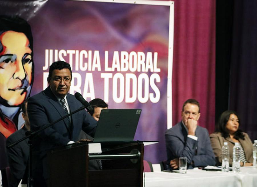 presentación Justicia Laboral