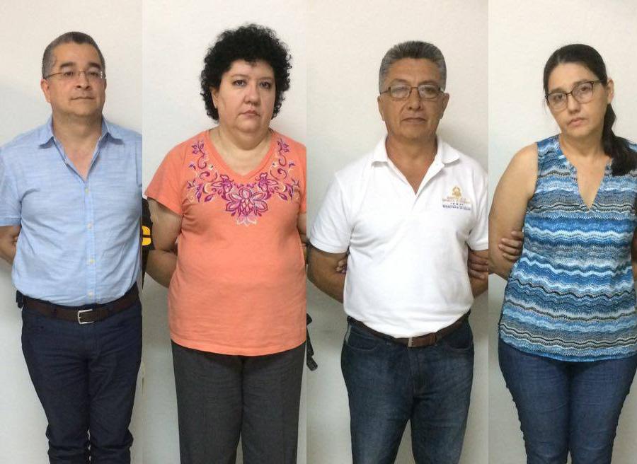 detenidos hospital santa barbara