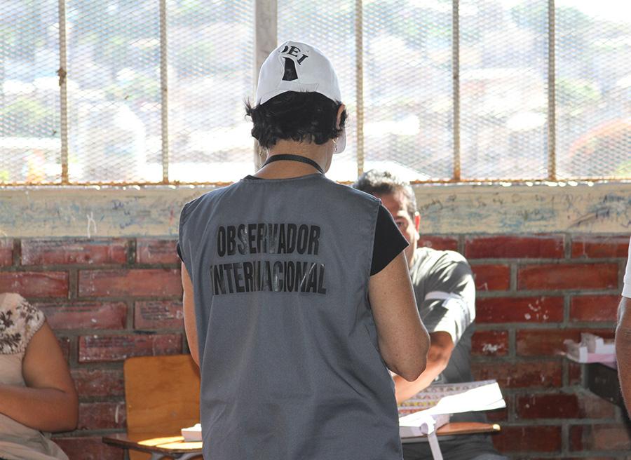 informe observacion electoral Acuerdo de Lima