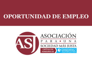 Convocatoria para contratación de Investigador(a) del Centro de Asistencia Legal Anticorrupción