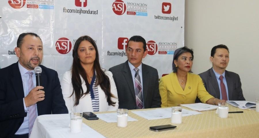 ASJ apoyo Modelo de Gestion Judicial por Audiencias