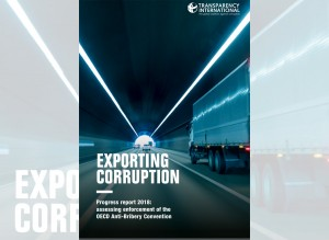 Mayoría de exportaciones mundiales vienen de países que no castigan soborno en el extranjero