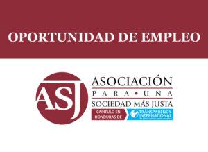 Convocatoria para la contratación de Oficial de Programas
