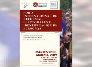 Mañana inicia foro internacional en el que analizarán reformas electorales hondureñas