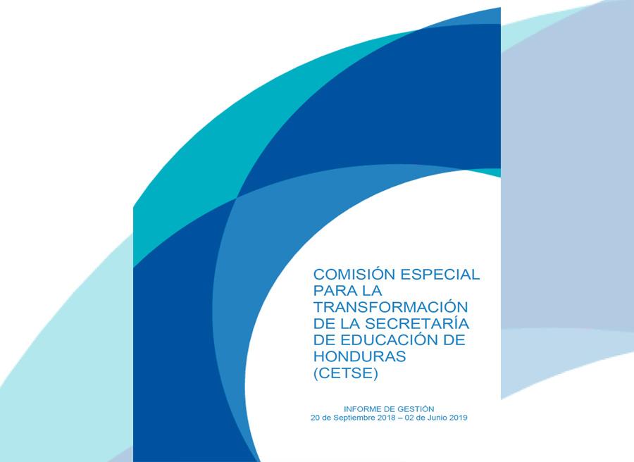 informe comision educacion Honduras