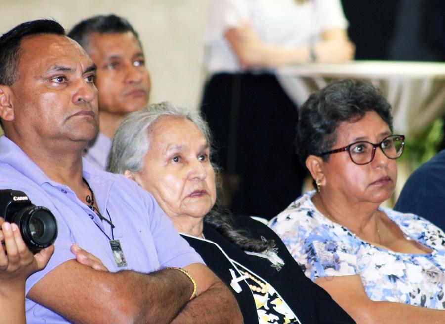 familia Berta Cáceres