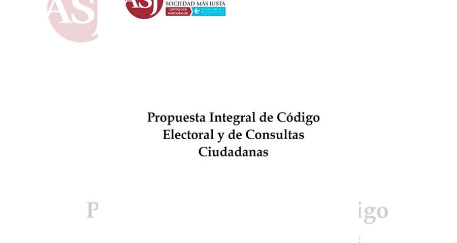 propuesto codigo electoral