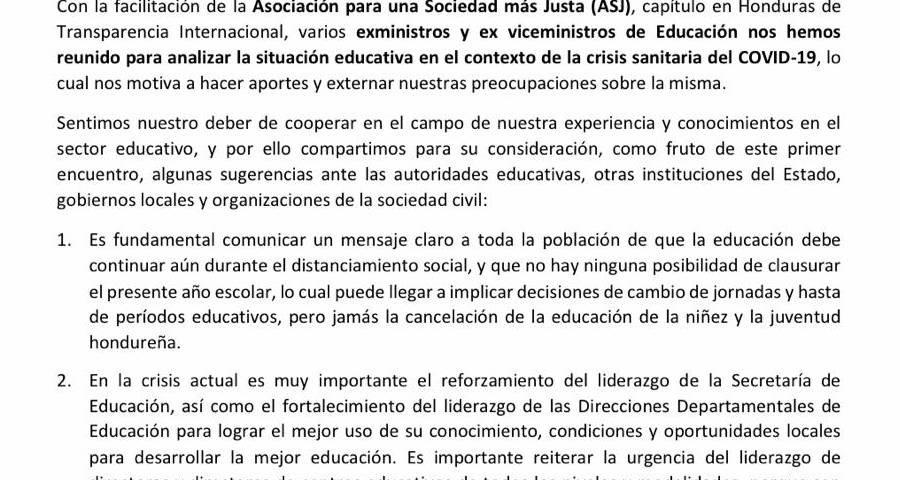 Carta pública