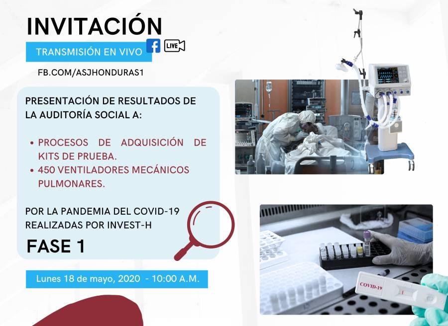 Invitacion informes COVID