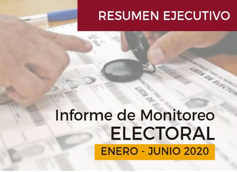 portada resumen informe electoral